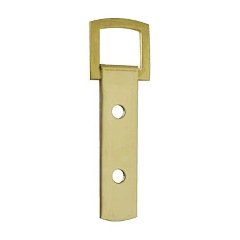 Heavy Duty Strap Hanger - 2 hole Brass Plated